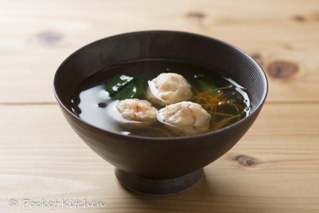 海老団子のスープ