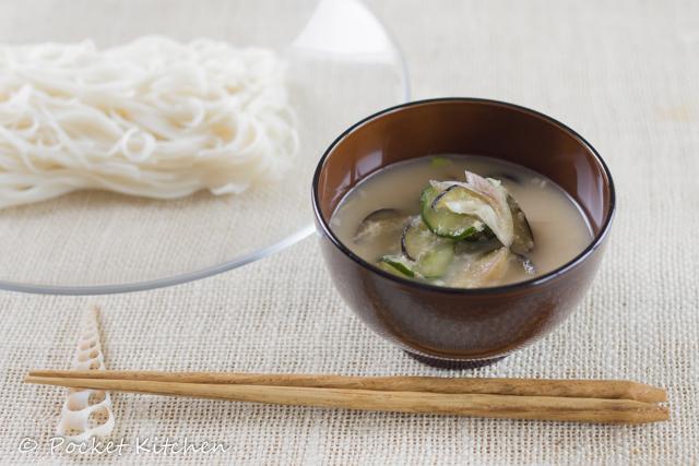 冷や汁素麺