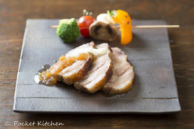 豚ハーブの塩包み焼き
